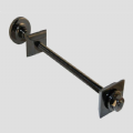 Luxury Wall Stay - Black Nickel